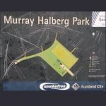 Murray Halberg Park Sign