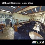 Envivo_Auckland_Grammar_School_Structural_Engineering_Point_Cloud_internal_scan