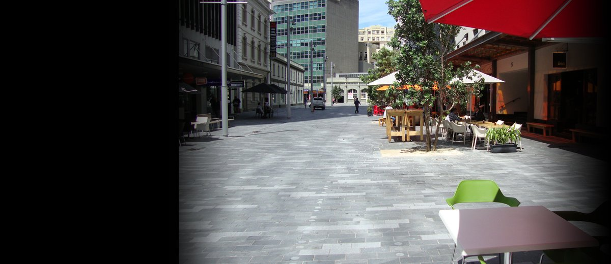 Envivo_Open_Spaces_Streetscapes_Fort_Street_Auckland_engineering_surveying_planning