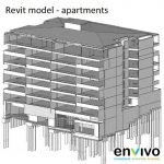 Envivo_enginering_modelling_Revit_model_apartment_block