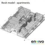 Envivo_enginering_modelling_Revit_model_apartments