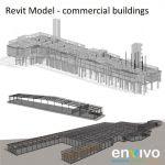 Envivo_enginering_modelling_Revit_model_commercial_buildings_factory