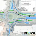 Envivo_engineering_Traffic_manoeuvring_truck_roundabout_tracking_analysis_transportation
