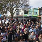 Mt Albert town centre opening crowd