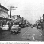 Ōtāhuhu street view in 1962
