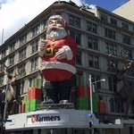 Santa Claus on Queen Street